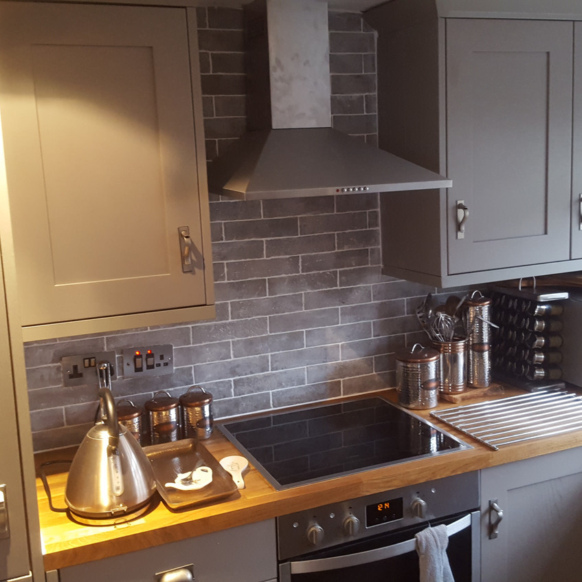 New Kitchen fitting Enfield Cooker