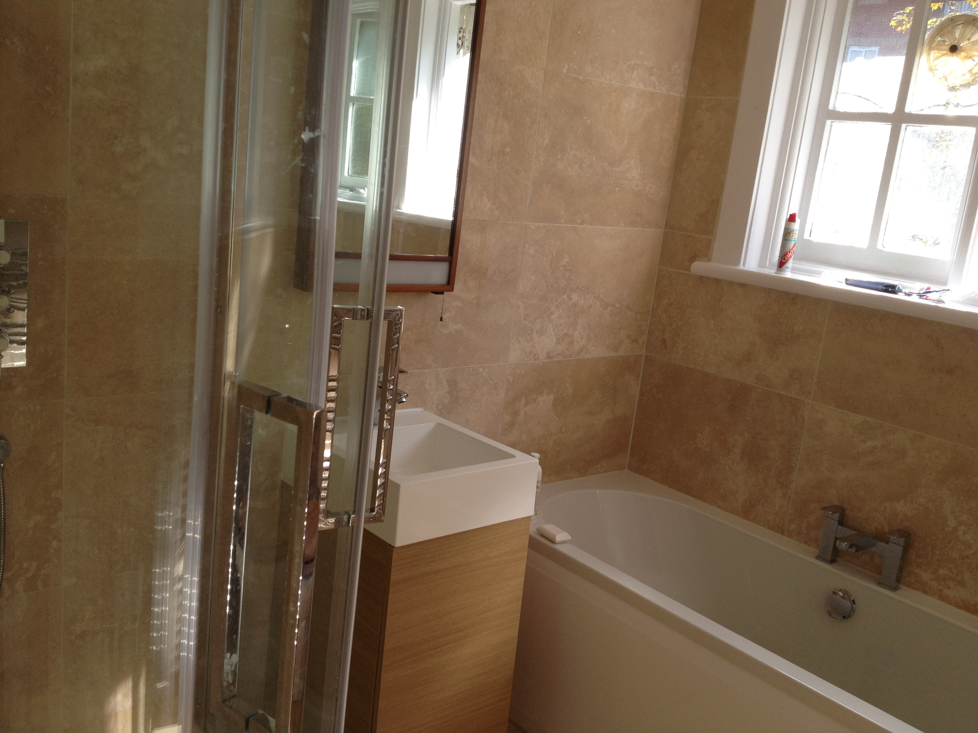 Bathroom refurbishment, London