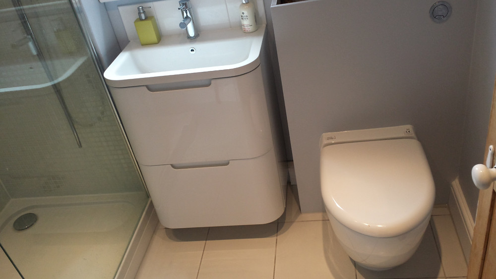 Fit New Sink and New Toilet