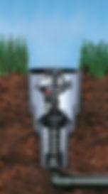 Pop Up Irrigation System Illustration