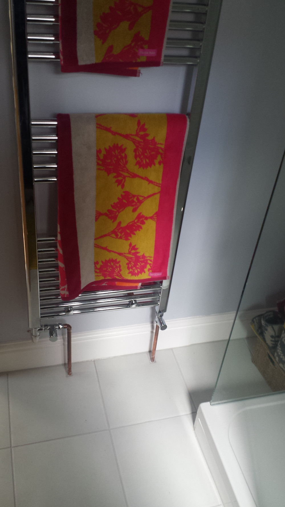Fit New Towel Rail Radiator