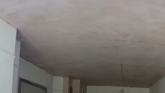 Ponari Builders New Ceiling With Soundproof Insulation