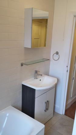 Bathroom refurbishment Crouch End
