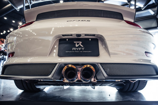 RYFT GT3RS Exhaust