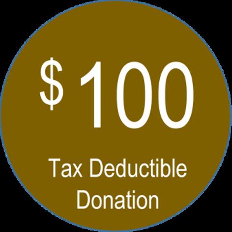 Charitable Donation ($100.00)
