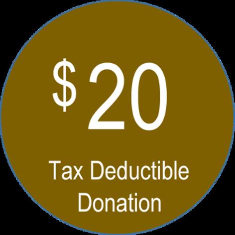 Charitable Donation ($20.00)