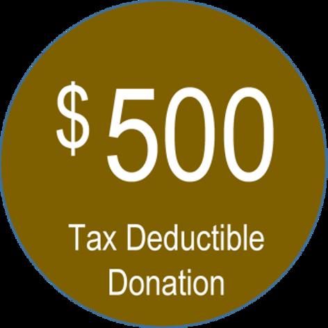Charitable Donation ($500.00)