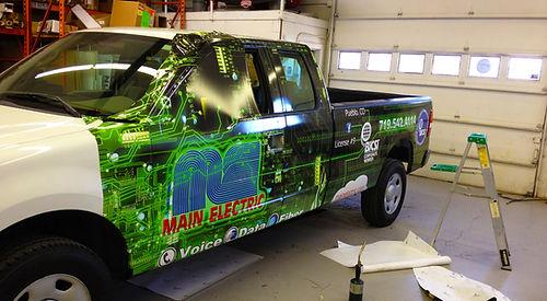 Vehicle Wrap Installation Pueblo CO