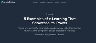5 Examples of e-Learning
