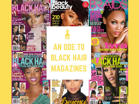 An Ode to Black Hair Magazines