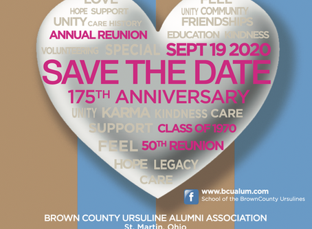 Save The Date: September 19 (Alumnae Reunion)