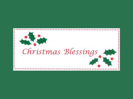 Christmas Blessings 2020