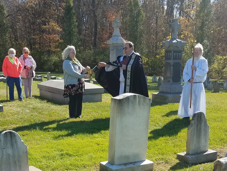 All Souls Day Cemetery Blessing