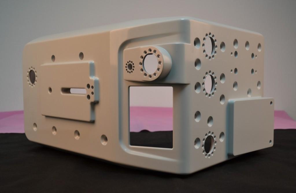 FDM - prototipos com pintura e acabamento