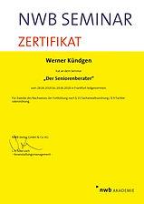NWB Zertifikat