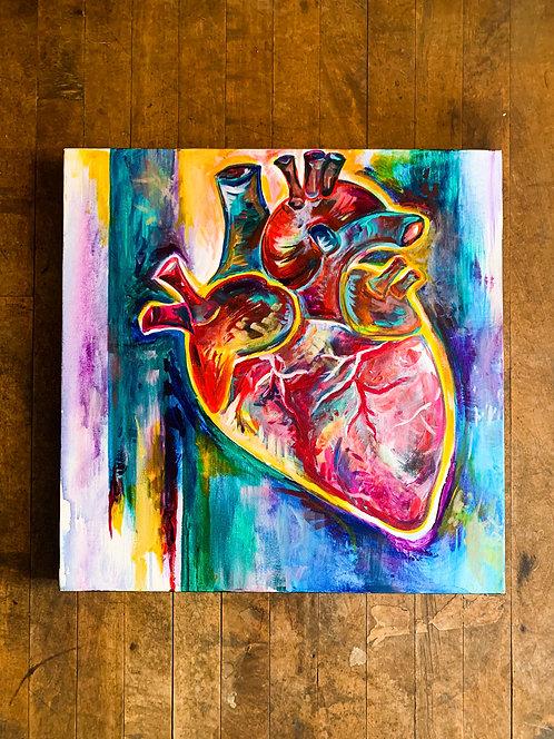 Vibrant Anatomic Heart