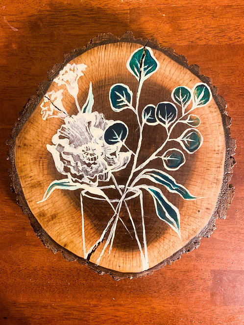 Floral Filled Vase