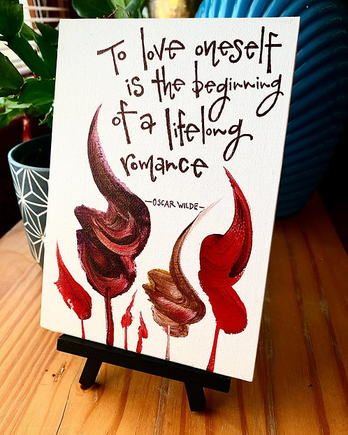 Self-Love - Quote Art