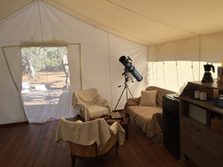 glamping indoor
