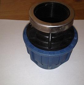 Female Connector Blue/Adaptor