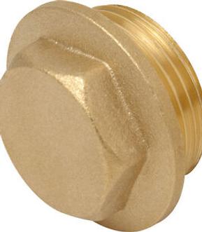 Male Thread Brass Plugs
