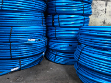 Blue Piping