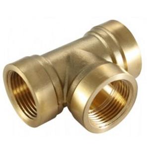 Brass Tee Connector