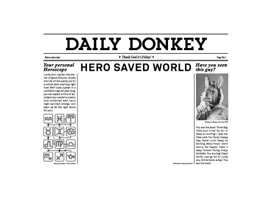 Fridge Frames: Daily Hero