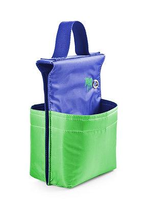 Bike Bag: Donkey Picnic for two, blue green&yellow