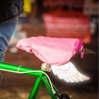 Flying Bike, pink: Bike Seat Cover