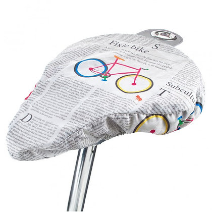Newspaper: Bike Seat Cover