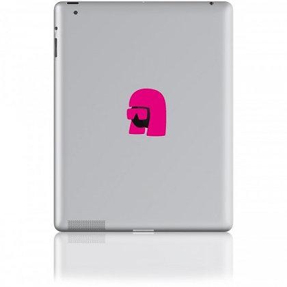 Queen of Pop, pink: Tablet Sticker - The Hats