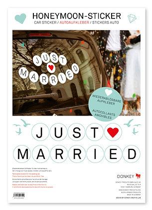 Sticker: Honeymoon-Sticker
