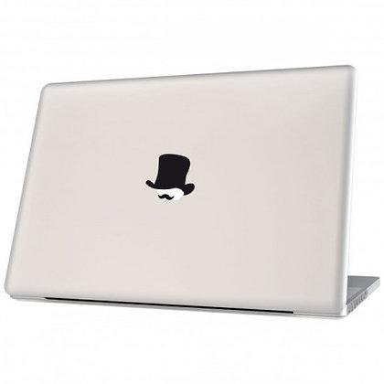 Mr. Watson, black: Laptop Sticker - The Hats