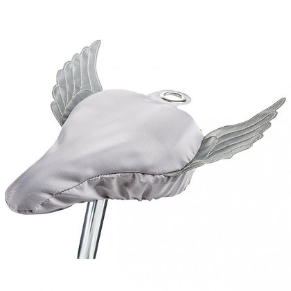 Flying Bike, silver: Bike Seat Cover