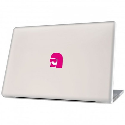 Queen of Pop, pink: Laptop Sticker - The Hats