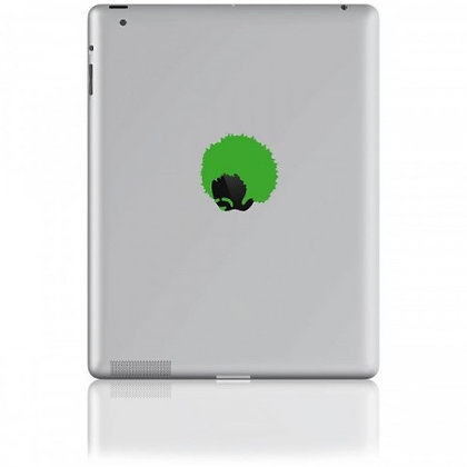 Jimmy, green: Tablet Sticker - The Hats