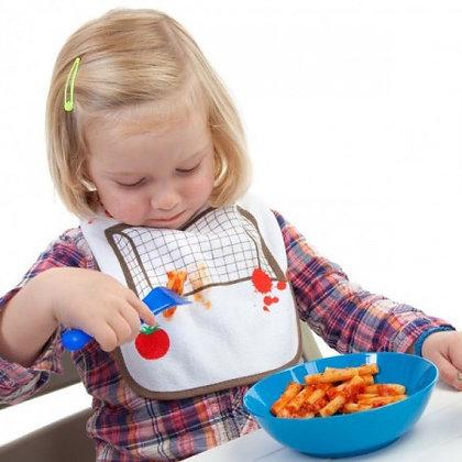 Tomato Soccer: Eat 'n' Win - Baby Bib