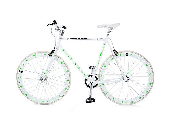 Bike Reflex: Green Triangle