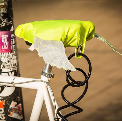 Flying Bike, neon yellow: Bike Seat Cover
