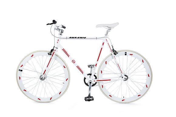 Bike Reflex: Red Racer