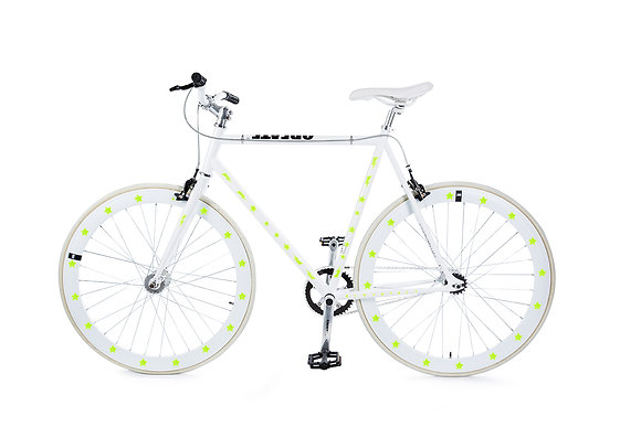 Bike Reflex: Yellow Star