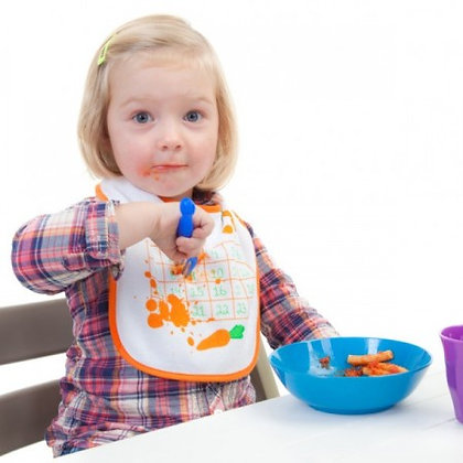 Carrot Bingo: Eat 'n' Win - Baby Bib
