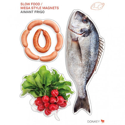 SALE>> Slow Food: Mega Style Magnets