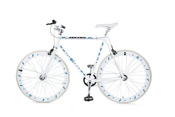 Bike Reflex: Blue Hipster