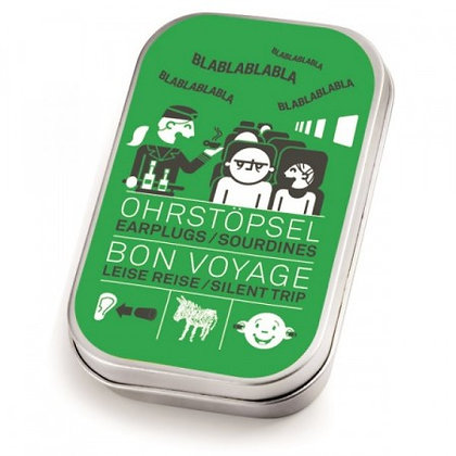 Bon Voyage: Earplugs