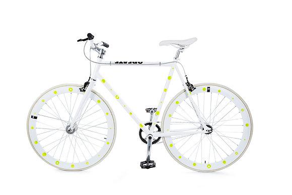 Bike Reflex: Yellow Circle