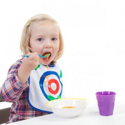 Zucchini Dart: Eat 'n' Win - Baby Bib