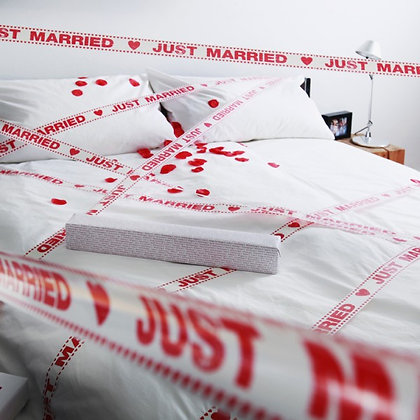 Just Married Tape Gallery