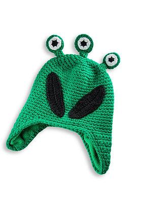 Kids Hat: Woolie Alien